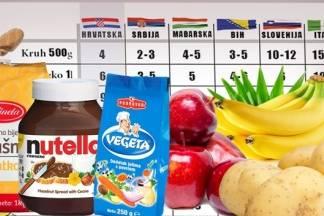 Hrana je puno jeftinija u Srbiji i BiH, pogledajte što se najviše isplati kupovati u susjednim zemljama