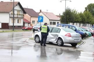 Prometna nesreća na križanju Orljavske i Runjaninove u Požegi
