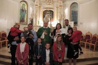 Biskup Škvorčević krstio peto dijete obitelji Korman iz Čaglina