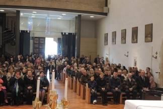 Osmo biskupijsko hodočašće zdravstvenih djelatnika u Voćin