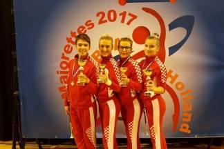 Požeške mažoretkinje odlične na natjecanju u Almeru