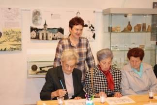 Održan muzejski program za osobe treće životne dobi ¨Tko uči, ne stari!¨