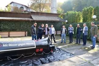 Predstavljen inovativan način zaštite od poplave - ¨Vodom protiv vode¨