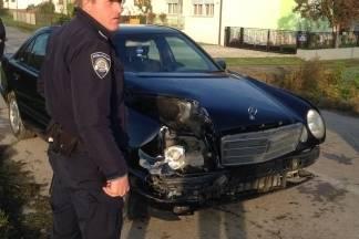 Jučer jedna prometna nesreća i jedan bijeg s mjesta prometne nesreće