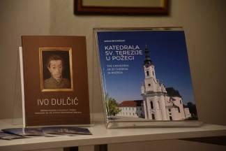 Predstavljena knjiga o požeškoj katedrali i zbornik radova o Ivi Duliću