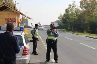 Najava akcije nadzora brzine kretanja vozila