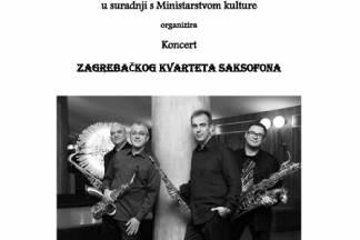 Koncert zagrebačkog kvarteta saksofona