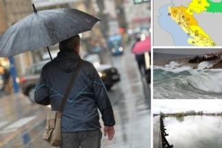 Velika promjena vremena: Meteoalarm izdao niz upozorenja za gotovo cijelu Hrvatsku
