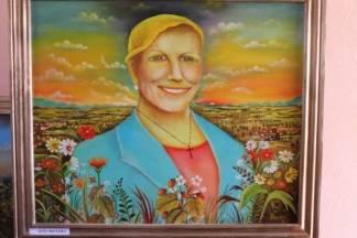 Slikar naive iz Lipika naslikao je portret predsjednice Grabar-Kitarović
