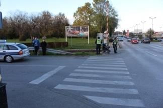 U jučerašnjoj prometnoj u Požegi motociklist teško ozlijeđen