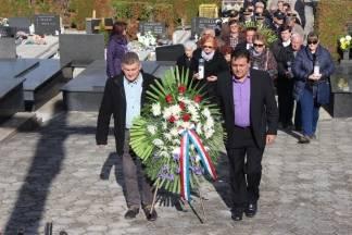Polaganjem vijenaca na groblju sv. Ilije obilježen blagdan Svih svetih 31.10.2017.