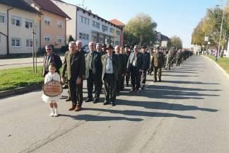 Lovci naše županije sudjelovali na proslavi sv. Huberta u Ludbregu