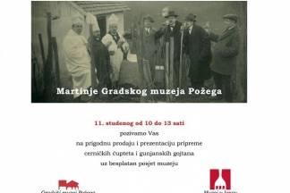 Martinje u Gradskom muzeju Požega