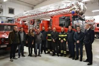 Predstavnici JVP Grada Požege, DVD Požega i HGSS stanice Požega razmijenili iskustva s talijanskim kolegama