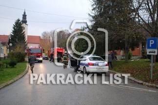 Požar i eksplozija plina u obiteljskoj kući, jedna osoba ozlijeđena