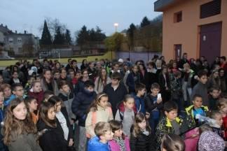 Učenici i učitelji Kanižlićeve škole odali počast žrtvama Vukovara