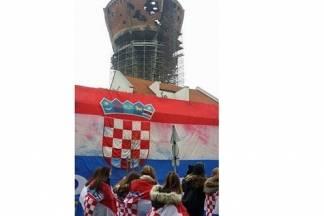 Fotka dana: Vukovarski vodotoranj na Dan sjećanja na žrtvu Vukovara