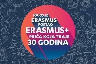 Program Erasmus slavi 30. rođendan