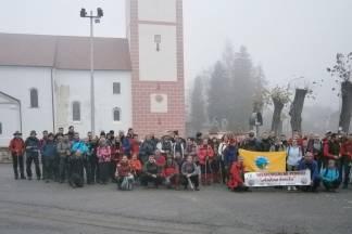 17. Memorijalni pohod na ¨Anđinu baraku¨ u spomen pogibije 11 branitelja na Papuku