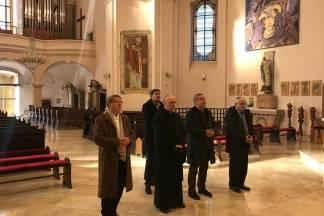 Gradonačelnik Zagreba Milan Bandić posjetio biskupa Škvorčevića
