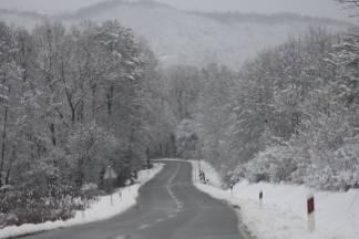 Snježnim putevima požeško - slavonske županije 09.12.2017.