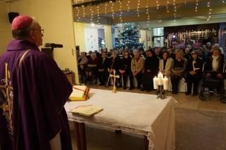 Biskup Škvorčević predvido misu u Domu za starije i nemoćne Požega
