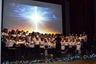 Božićna priredba učenika Katoličke osnovne škole