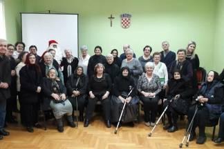 Božićna priredba u Dnevnom boravku za zlatno doba Pleternica
