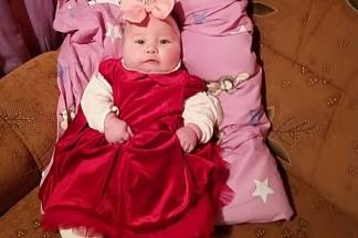 Mala Lorena nakon operacije čeljusti stigla kući
