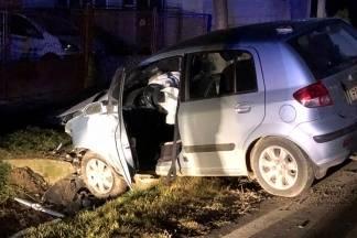 Tijekom božićnog vikenda pet prometnih nesreća i pet bjegova s mjesta nesreće
