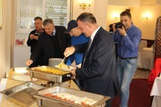 Županov doručak s požeškim novinarima