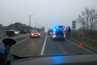 Prometna nesreća jutros kod požeške bolnice