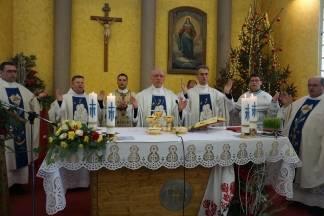 Biskup Škvorčević na slavlju Gospe Brze Pomoći u Slavonskom Brodu
