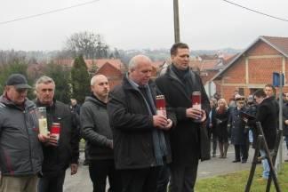 U Brusniku, nedaleko Pakraca, održana komemoracija za 12 poginulih pripadnika 127. virovitičke brigade