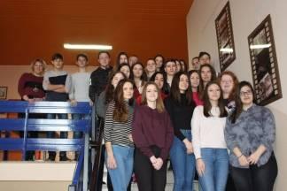 Učenica Ekonomske škole Požega Valentina Grbeš vodi cijeli razred u Europski parlament