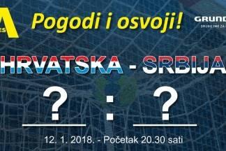 Pogodi rezultat rukometne utakmice Hrvatska : Srbija i osvoji nagradu Alles Elektrocentra