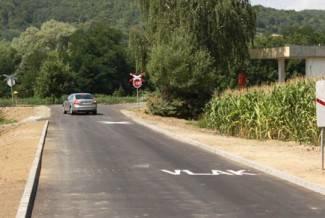 Proširena cesta Blacko - Trapari