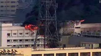 Egipat: Požar na zgradi Ministarstva unutarnjih poslova