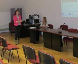 Učitelji i profesori na predavanju o programu Europske unije