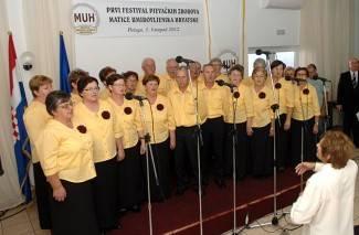 Jakšićani nastupili na Festivalu zborova umirovljenika