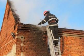 Gašenje požara u Cerovcu
