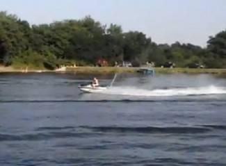 Snimio čitatelj: Jet Ski na Kaptolačkom jezeru (video)