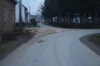 Nakon objave na portalu: Počišćen pijesak s ceste