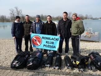 Požeški ronioci sudjelovali u akciji čišćenja Jaruna