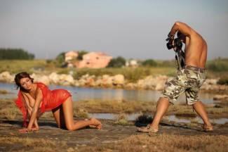 Zadar: Gianna Apostolski pozira Lupinu za Playboy
