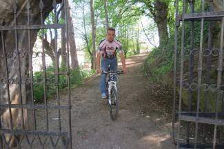 Marijan spreman za biciklistički maraton Mostar - Vukovar