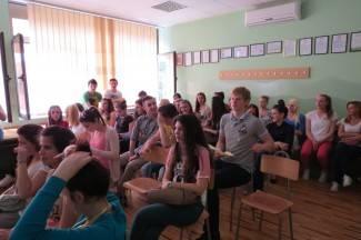 Ekonomska škola se predstavila osmašima (foto)