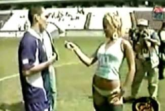 Brazilska novinarka se skinula usred razgovora s nogometašem