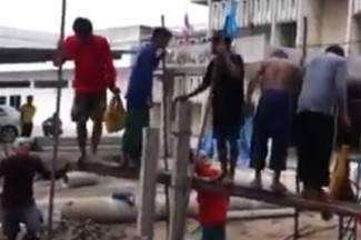Kraj ovakve radne snage strojevi nisu potrebni (video)