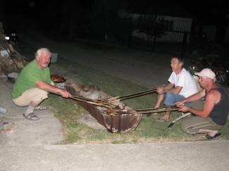 Pripreme za turnir: Ribarska večer u Velikoj